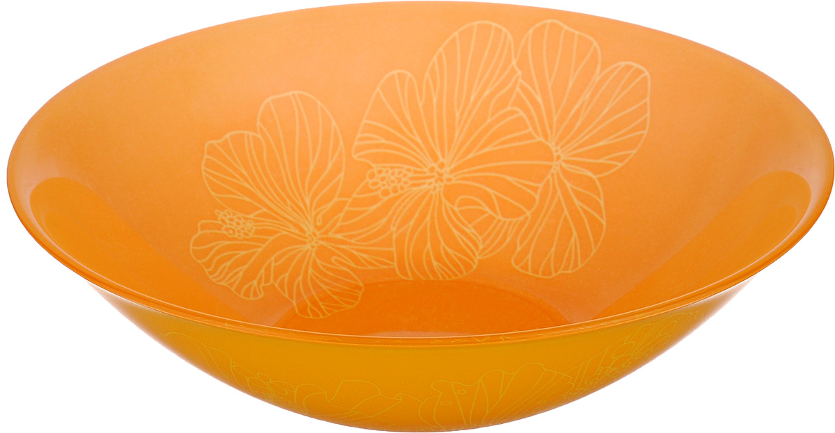Миска Luminarc Rhapsody, диаметр 16,5 смH8728Миска Luminarc Rhapsody выполнена из высококачественного стекла. Изделие сочетает в себеизысканный дизайн с максимальной функциональностью. Она прекрасно впишется в интерьер вашей кухни и станет достойным дополнением к кухонному инвентарю. Миска Rhapsody подчеркнет прекрасный вкус хозяйки и станет отличным подарком. Диаметр миски (по верхнему краю): 16,5 см. Высота стенки: 5 см.