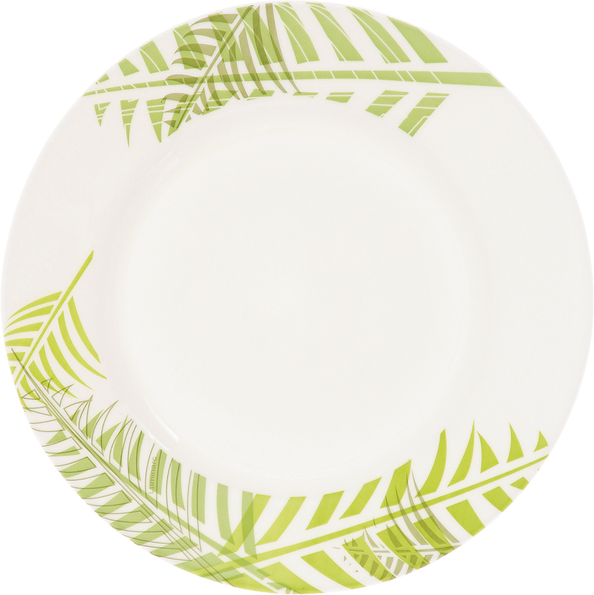 Тарелка десертная Luminarc Green Forest, диаметр 19 смH8449Десертная тарелка Luminarc Green Forest, изготовленная из ударопрочного стекла, имеет изысканный внешний вид. Такая тарелка прекрасно подходит как для торжественных случаев, так и для повседневного использования. Идеальна для подачи десертов, пирожных, тортов и многого другого. Она прекрасно оформит стол и станет отличным дополнением к вашей коллекции кухонной посуды. Диаметр тарелки (по верхнему краю): 19 см. Высота тарелки: 1,5 см.