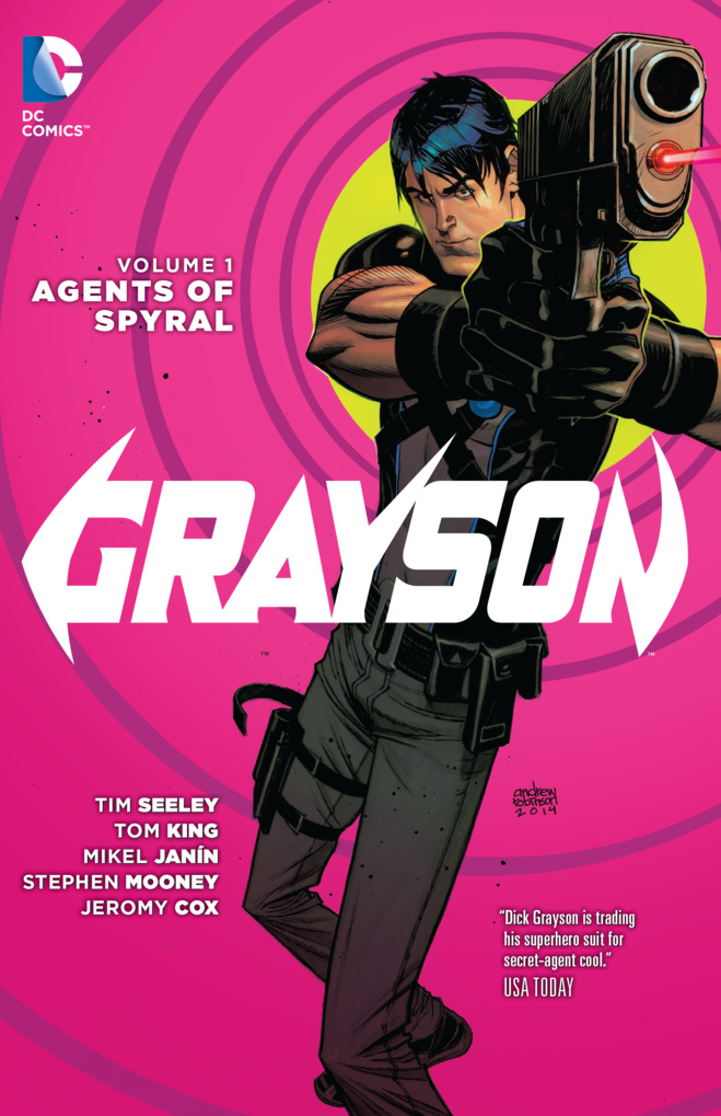 Grayson Vol. 1: Agents Of Spyral (The New 52) keith giffen threshold vol 1 the hunted the new 52