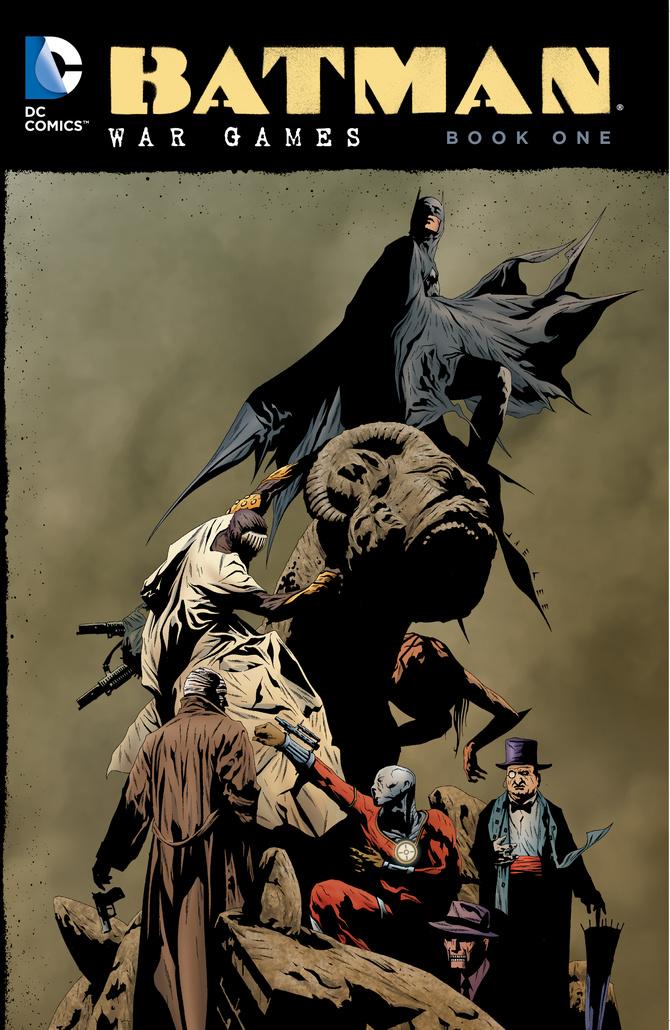 BATMAN: WAR GAMES BOOK ONE batman gordon of gotham