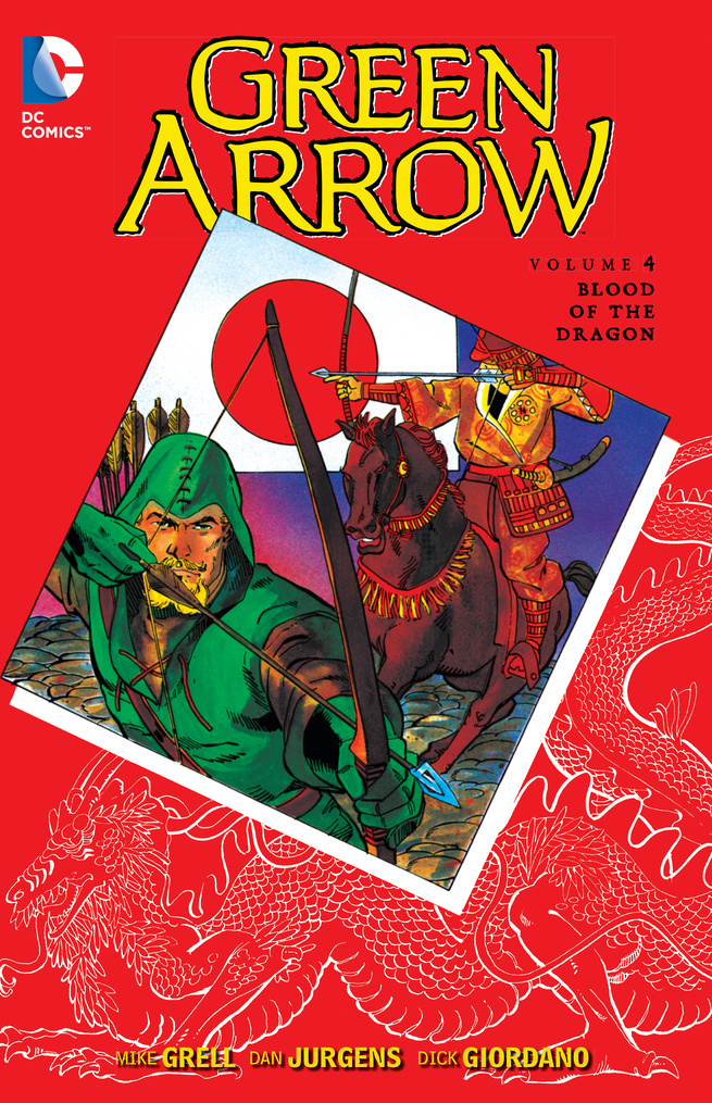 Green Arrow Vol. 4: Blood of the Dragon 3 inches of blood 3 inches of blood long live heavy metal