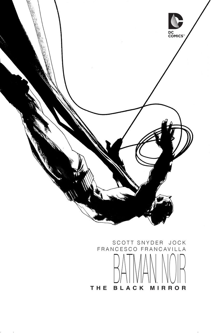 Batman Noir: Black Mirror batman gordon of gotham