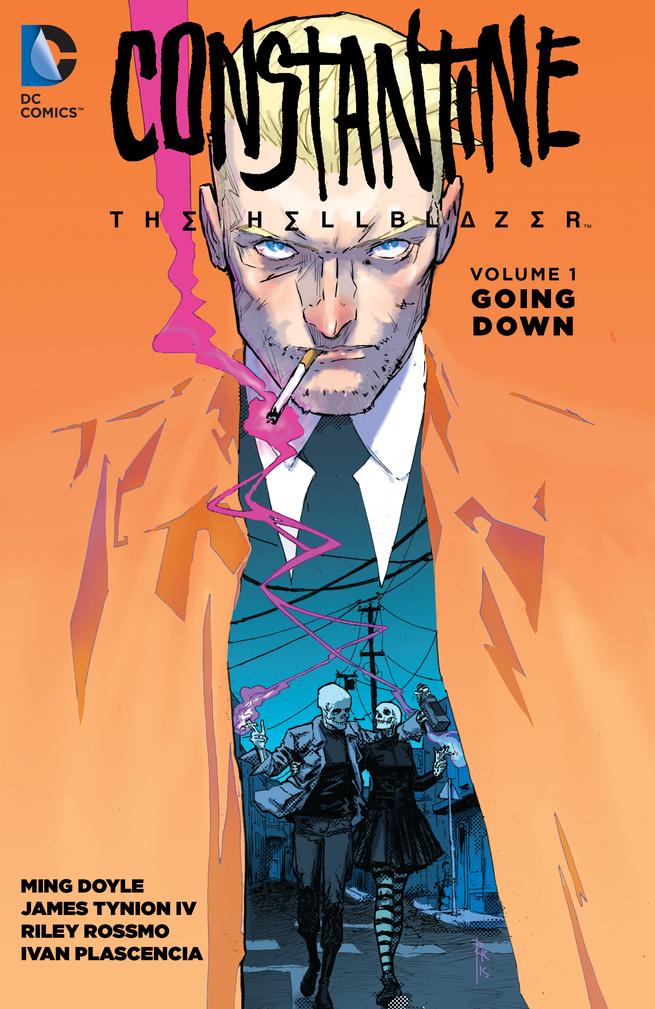 Constantine: The Hellblazer Volume 1: Going Down john constantine hellblazer vol 6 bloodlines