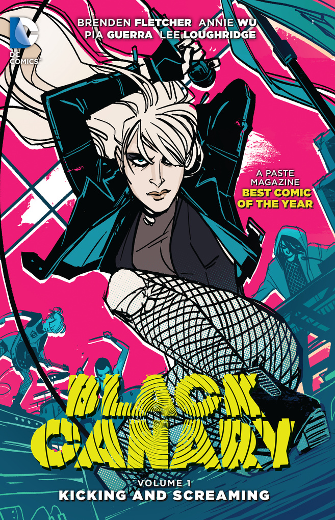 Black Canary Vol. 1: Kicking and Screaming декор canary