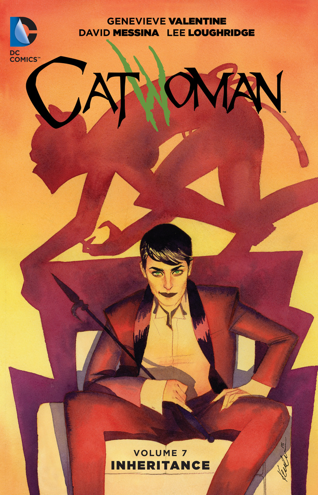 Catwoman: Volume 7: Inheritance catwoman when in rome