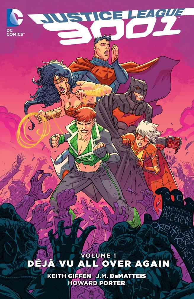 Justice League 3001 Vol. 1: Deja Vu All Over Again декор vitra deja vu noce damask 30x60