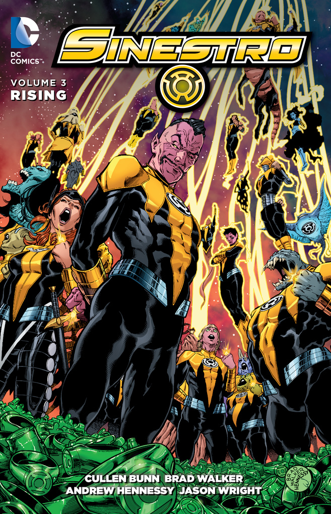 Sinestro Vol. 3: Rising kenya vol 3 aberrations