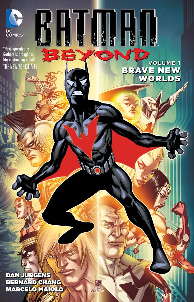 Batman Beyond: Volume 1: Brave New Worlds batman gordon of gotham