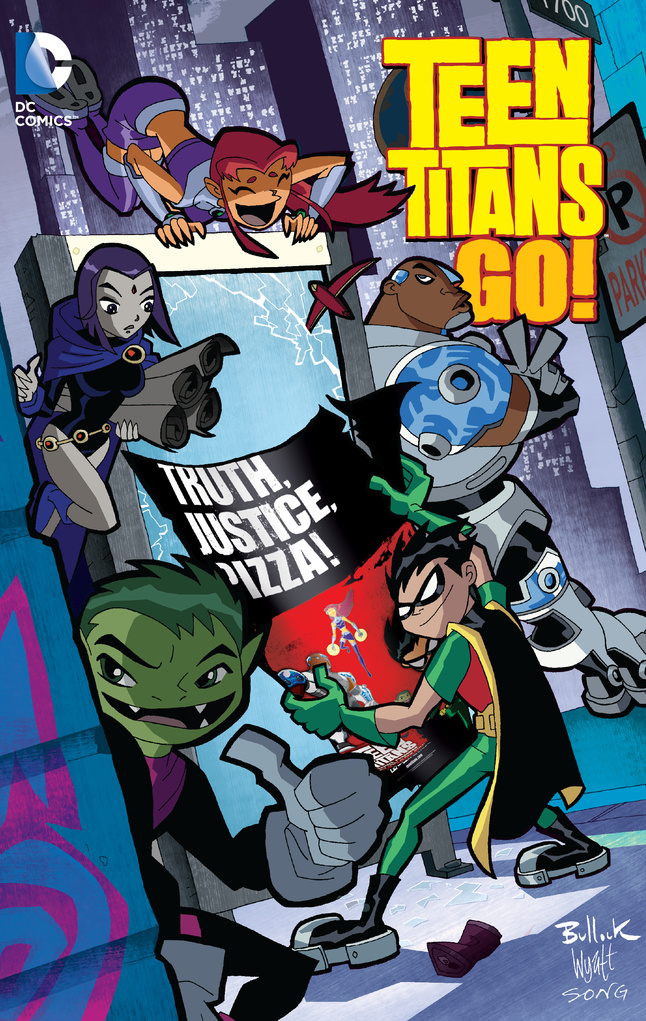 Teen Titans Go!: Truth,Justice, Pizza tiny titans vol 01