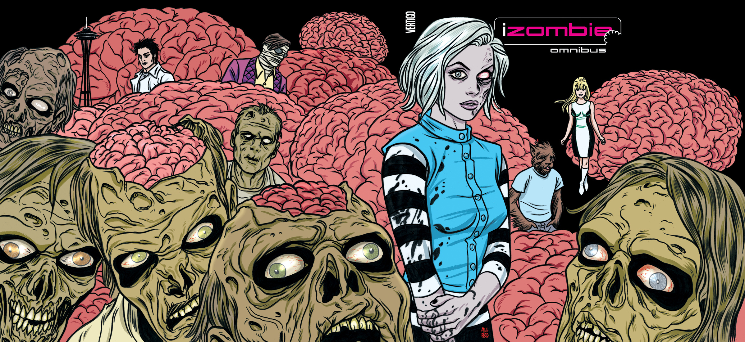 The iZombie Omnibus chris wormell george and the dragon
