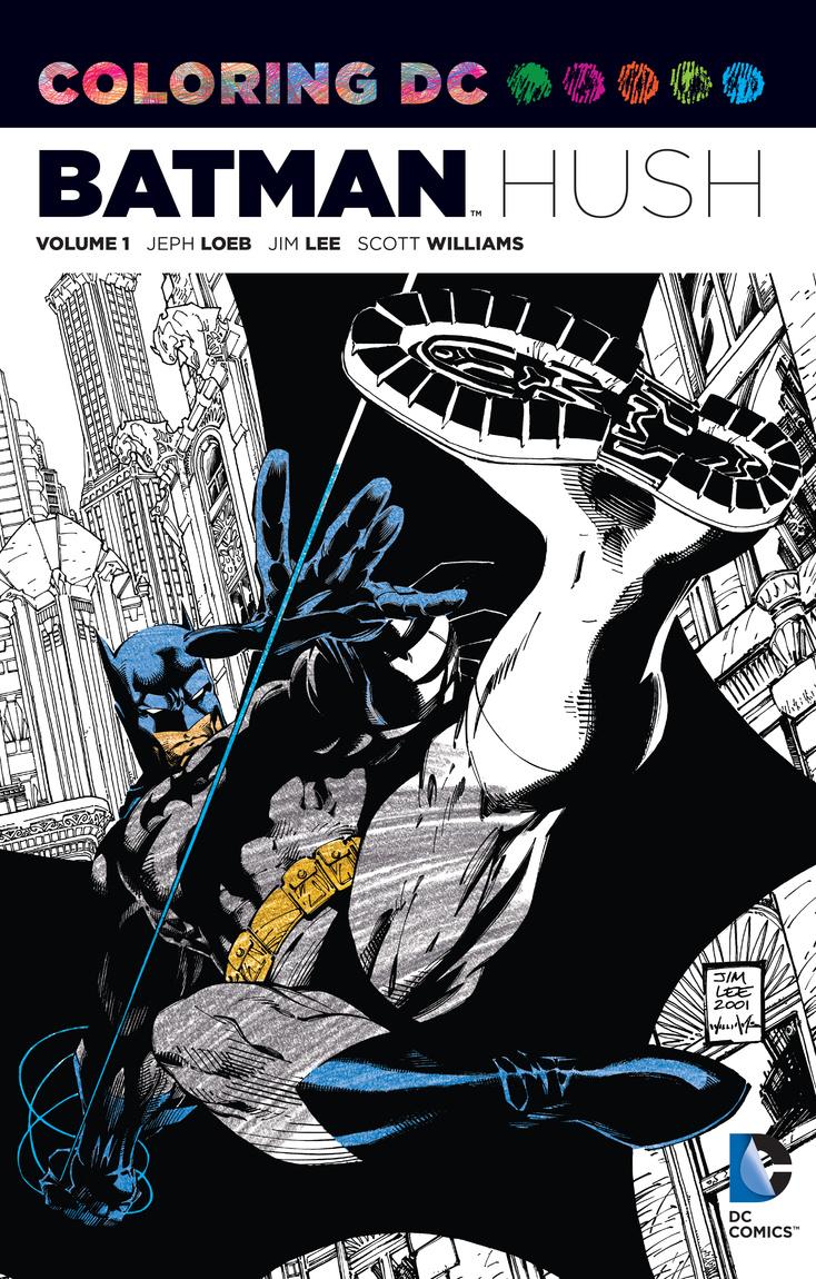 Coloring DC: Batman-Hush Vol. 1 batman hush
