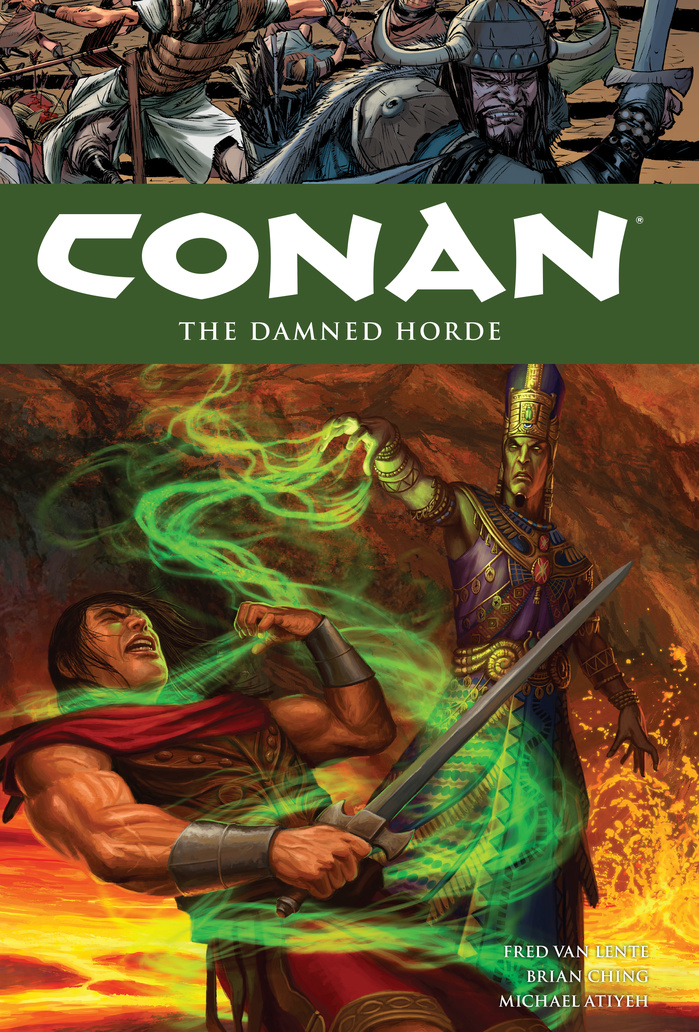 Conan Volume 18: The Damned Horde conan omnibus volume 1 birth of the legend