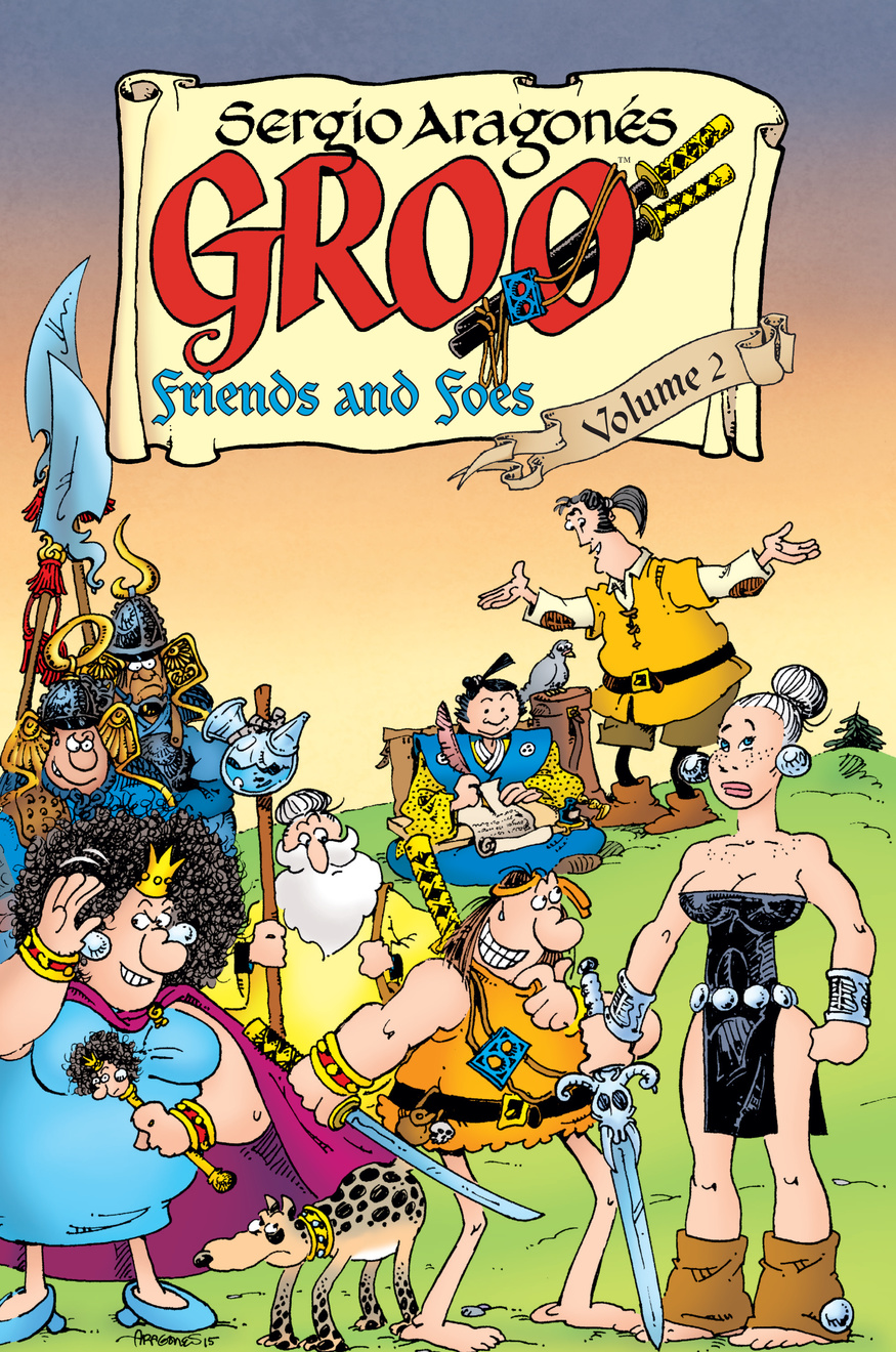 Groo: Friends and Foes Volume 2 new original jancd xcp01c 1 with free dhl ems