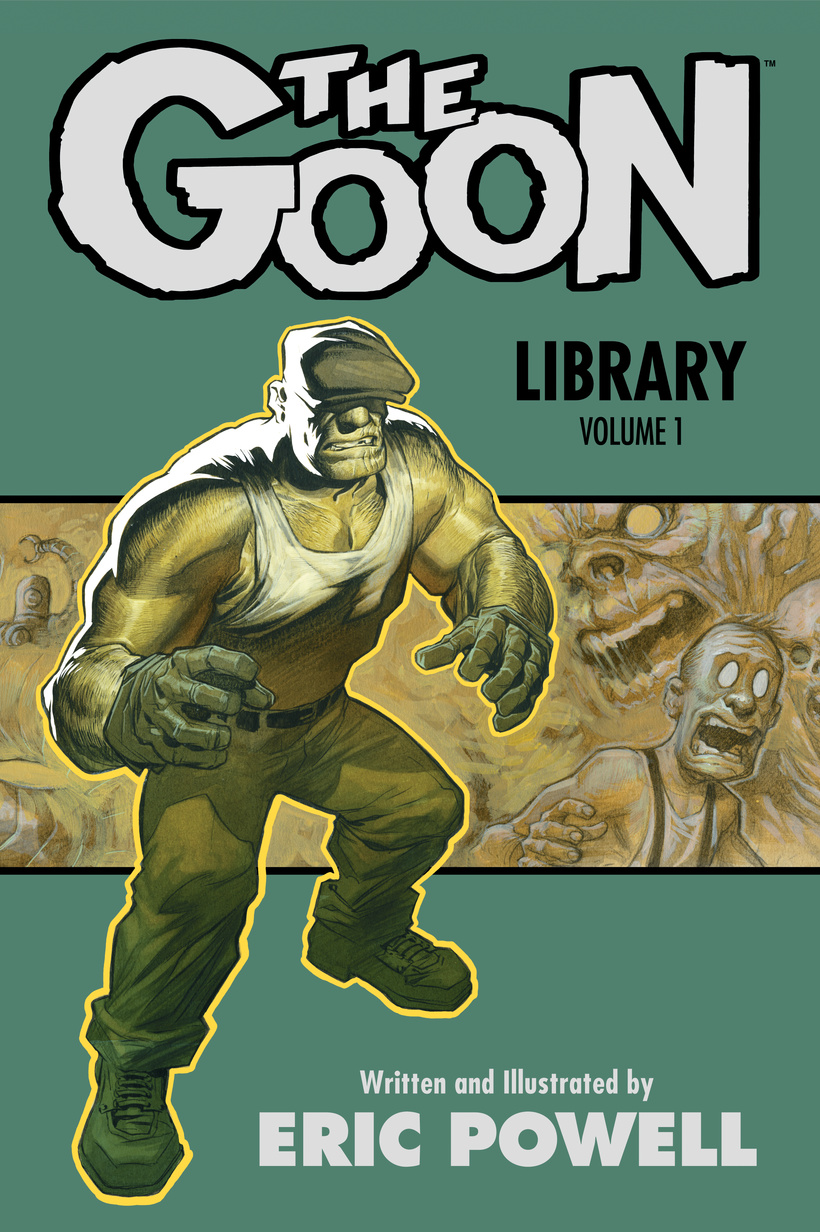 THE GOON LIBRARY VOL 1 powers the definitive hardcover collection vol 7