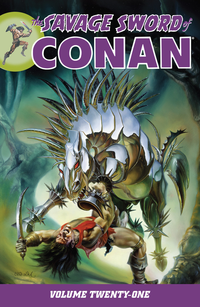 Savage Sword of Conan Volume 21 conan omnibus volume 1 birth of the legend