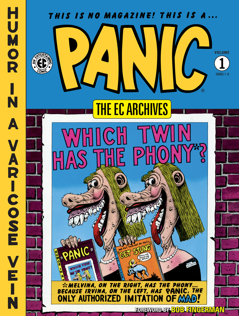 EC Archives: Panic Volume 1 the ec archives two fisted tales volume 3