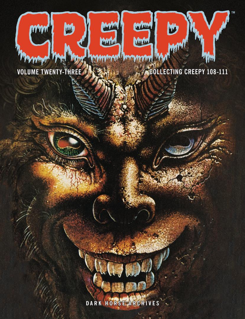Creepy Archives Volume 23 creepy comics volume 1