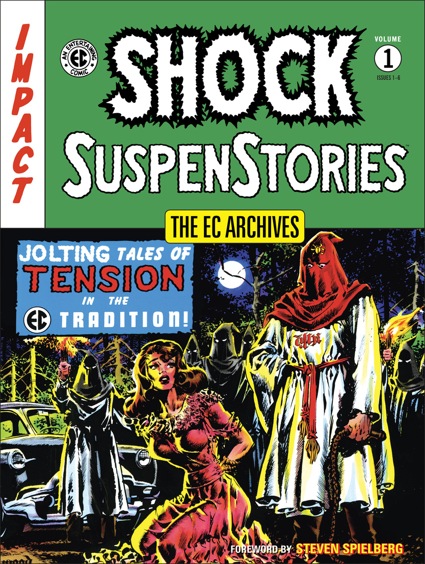 EC Archives, The: Shock Suspense Stories Volume 1 the ec archives two fisted tales volume 3