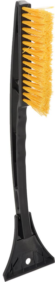 Щетка для снега Sapfire со скребком, цвет: черный, желтый, длина 44 смSF-0072_черный/желтыйЩетка для снега Sapfire изготовлена из твердого морозостойкого пластика. Рассчитана на низкие температуры и длительную эксплуатацию. Мощный скребок с зубьями для твердого льда. Особо мягкая щетина из высокоупругого полимера предотвращает царапины на лакокрасочном покрытии. Длина щетки: 44 см. Длина щетины: 5 см. Ширина скребка: 9,5 см.Длина рабочей поверхности щетины: 10 см.