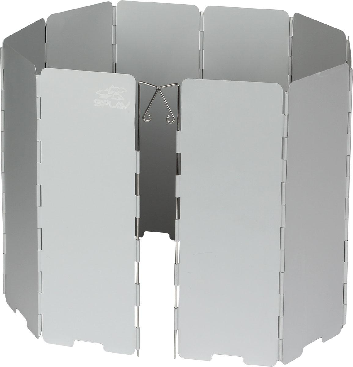 Ветрозащитный экран Сплав5108740Компактный защитный экран от ветраСохраняет тепло пламениСпособствует экономии топливаУскоряет время приготовления пищи10 секций845 х 240 ммВес с чехлом: 291 гВес без чехла: 260 г