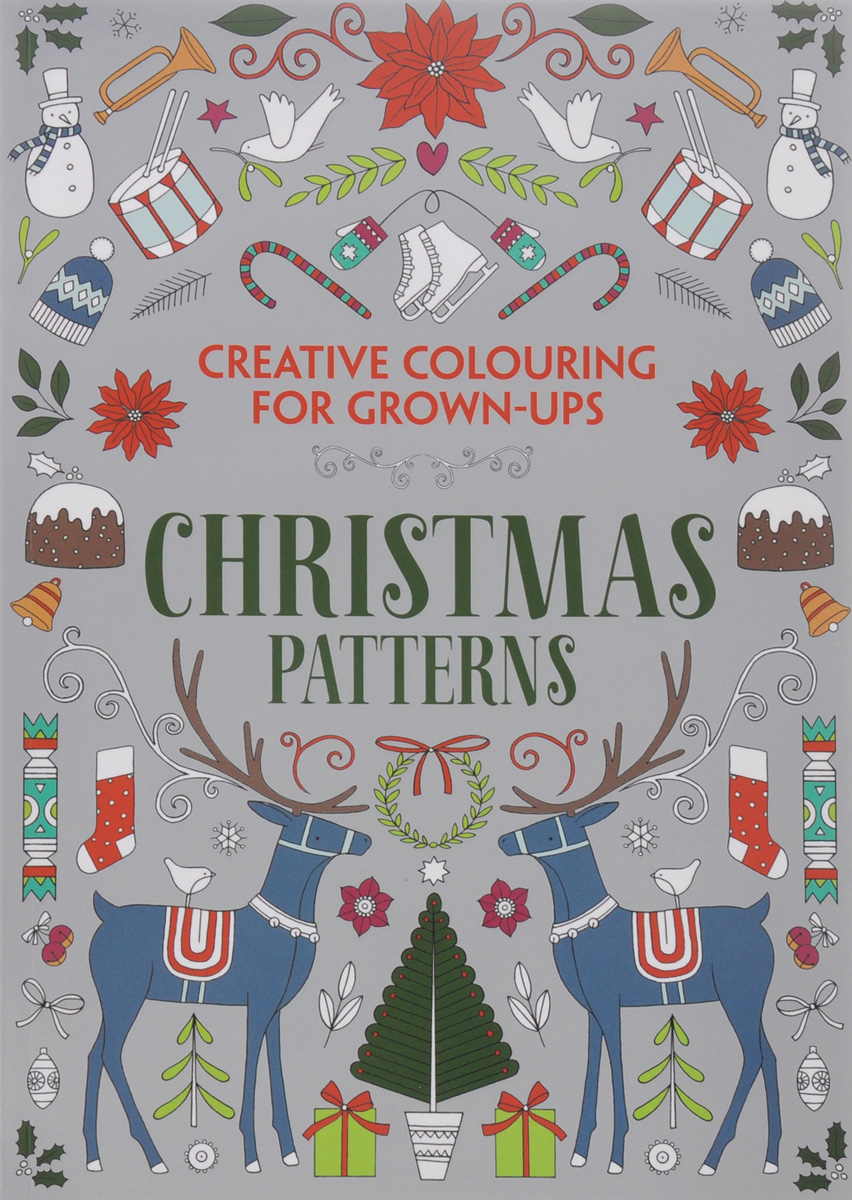 Christmas Patterns: Creative Colouring for Grown-Ups
