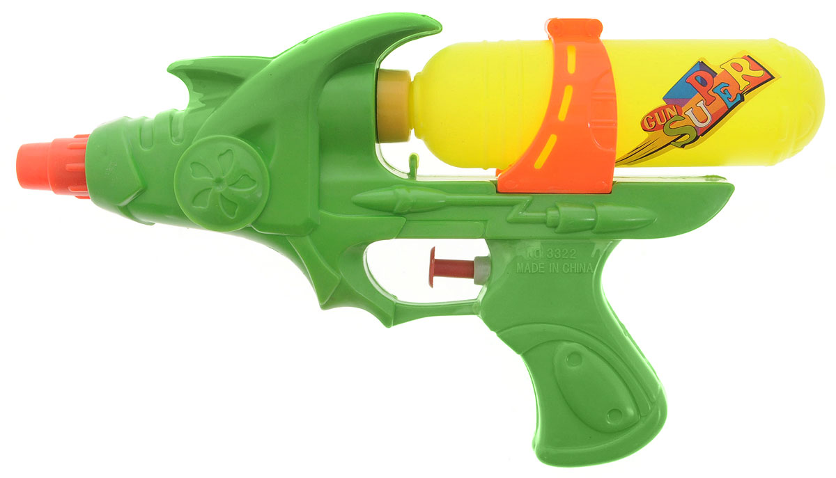 BebelotВодный пистолет Бластер цвет зеленый желтый Bebelot