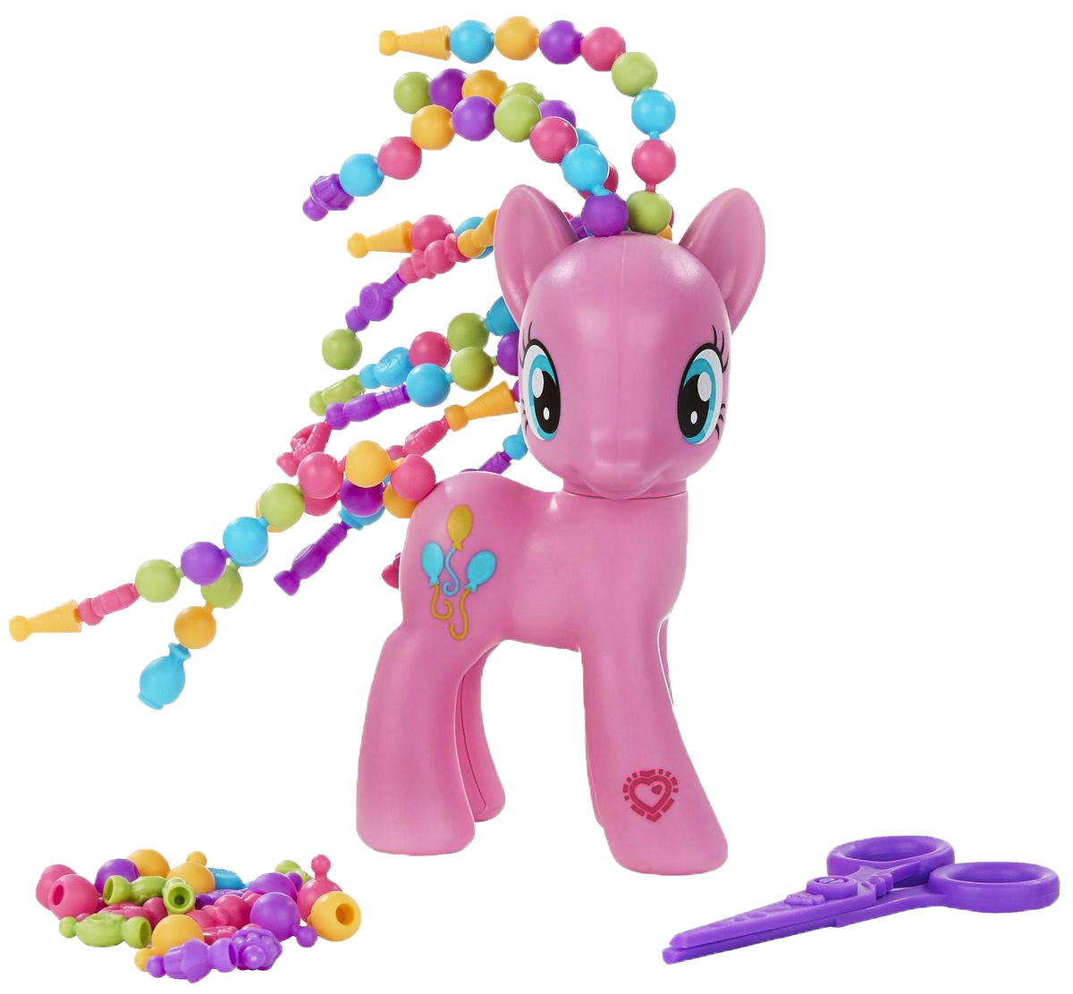 My Little Pony Фигурка Pinkie Pie с разными прическами my little pony фигурка mr carrot cake