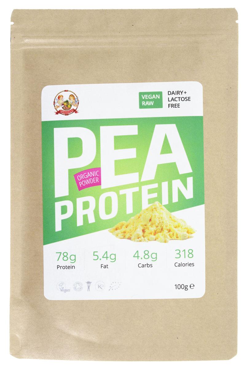 UFEELGOOD Organic Pea Protein Powder органический гороховый протеин, 100 г протеин гороховый 100гр organic
