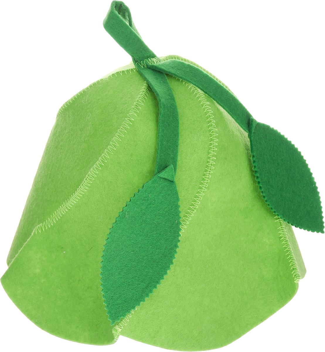 Шапка для бани и сауны Доктор баня Вьюнок, цвет: зеленый905245Шапка для бани и сауны Доктор баня Вьюнок изготовлена из фильца (100%полиэстер) - нетканого полотна. Это незаменимый аксессуар для любителей попариться в русскойбане и для тех, кто предпочитает сухой жар финской бани.Необычный дизайн изделия поможет сделать ваш отдых приятным иразнообразным, к тому же шапка защитит вас от головокружения впарилке, ваши волосы - от сухости и ломкости, а голову - от перегрева.Такая шапкастанет отличным подарком для любителей отдыха в бане или сауне. Диаметр основания шапки: 31 см. Высота шапки: 26 см.
