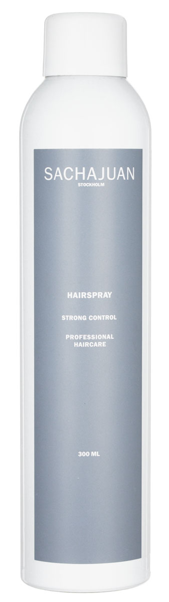 Sachajuan Спрей для волос сильной фиксации 300 млSCHJ109Лак для волос сильной фиксации SACHAJUAN отлично подходит для повседневного стайлинга и великолепно фиксирует укладку, не вызывая ощущения липкости волос. Подходит для ежедневного использования, не делает волосы тусклыми и не повреждает их. Наносить после завершения укладки.