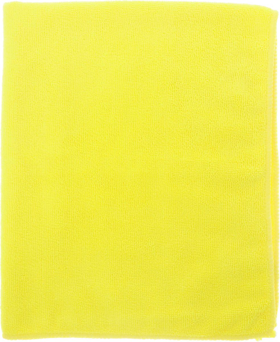Салфетка чистящая Sapfire Large & Soft, цвет: желтый, 60 х 50 смSFM-3011 _желтыйЧистящая салфетка Sapfire Large & Soft выполнена из микрофибры (85% полиэстер, 15% полиамид). Каждая нить после специальной химической обработки расщепляется на 12-16 клиновидных микроволокон. Микрофибровое полотно удаляет грязь с поверхности намного эффективнее, быстрее и значительно более бережно в сравнении с обычной тканью, что существенно снижает время на проведение уборки, поскольку отсутствует необходимость протирать одно и то же место дважды. Салфетка обладает уникальной способностью быстро впитывать большой объем жидкости. Клиновидные микроскопические волокна захватывают и легко удерживают частички пыли, жировой и никотиновый налет, микроорганизмы, в том числе болезнетворные и вызывающие аллергию. Благодаря своей сетчатой структуре, легко удаляет с твердых поверхностей засохшую грязь, смолу и почки деревьев, прилипших насекомых. Протертая поверхность становится идеально чистой, сухой, блестящей, без разводов и ворсинок. Микрофибра устойчива к истиранию, ее можно быстро вернуть к первоначальному виду с помощью машинной стирки при малом количестве моющих средств. Состав салфетки: полиэстер (85%), полиамид (15%).Размер салфетки: 60 х 50 см.