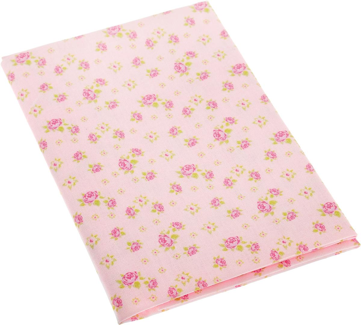 """Ткань Артмикс """"Розы в стиле шебби шик"""",  изготовленная из 100% хлопка, предназначена для  пошива одеял, покрывал, сумок, аппликаций и  прочих изделий в технике пэчворк. Также подходит  для пошива кукол,  аксессуаров и одежды.   Пэчворк - это вид рукоделия, при котором по  принципу мозаики сшивается  цельное изделие из кусочков ткани (лоскутков).   Плотность ткани: 120 г/м2.  УВАЖАЕМЫЕ КЛИЕНТЫ! Обращаем ваше внимание, на тот факт, что размер  отреза может отличаться на 1-2 см."""