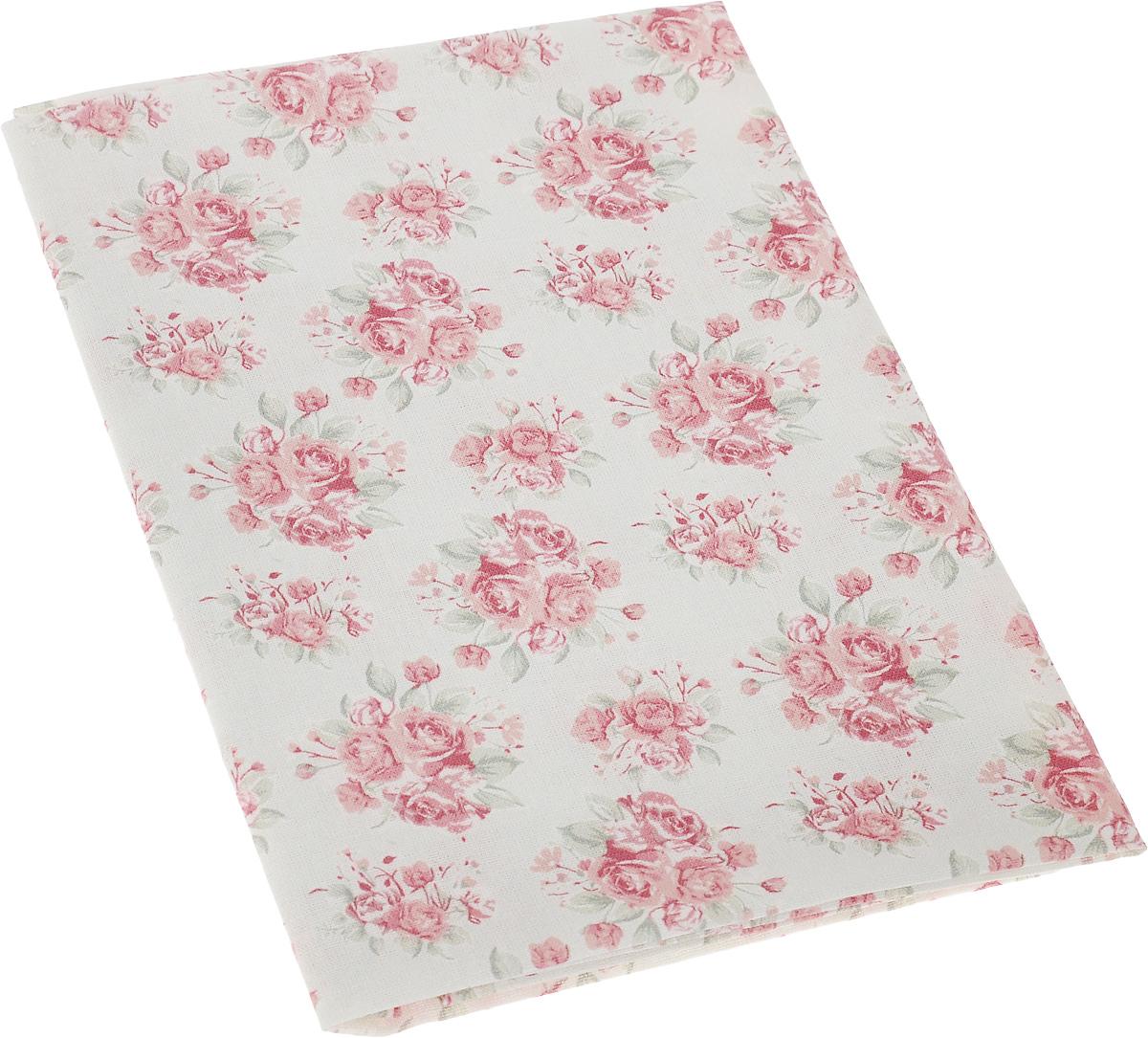 """Ткань Артмикс """"Розы, клетка и листочки"""",  изготовленная из 100% хлопка, предназначена для  пошива одеял, покрывал, сумок, аппликаций и  прочих изделий в технике пэчворк. Также подходит  для пошива кукол,  аксессуаров и одежды.   Пэчворк - это вид рукоделия, при котором по  принципу мозаики сшивается  цельное изделие из кусочков ткани (лоскутков).   Плотность ткани: 120 г/м2.  УВАЖАЕМЫЕ КЛИЕНТЫ! Обращаем ваше внимание, на тот факт, что размер  отреза может отличаться на 1-2 см."""