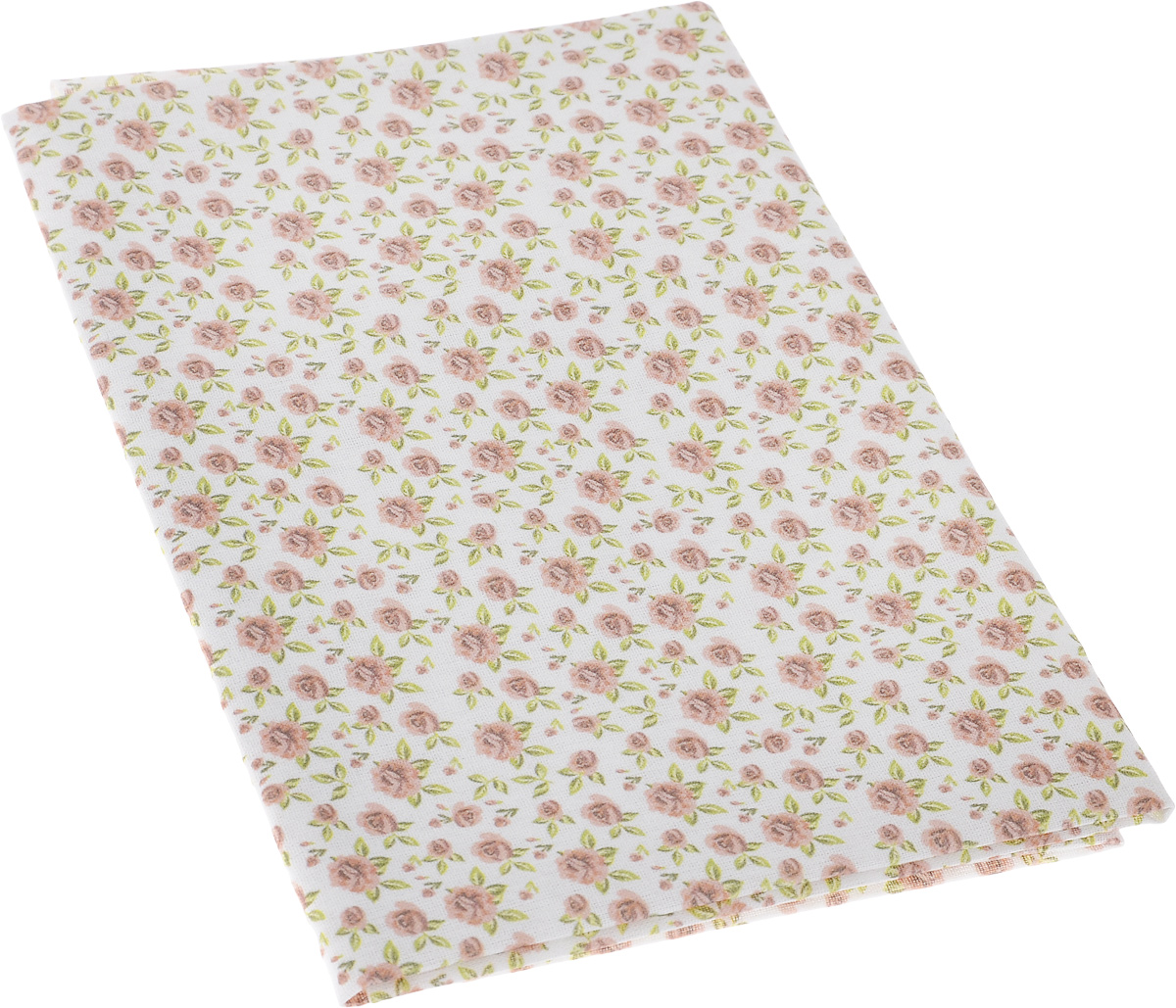 """Ткань Артмикс """"Винтажные розы"""",  изготовленная из 100% хлопка, предназначена для  пошива одеял, покрывал, сумок, аппликаций и  прочих изделий в технике пэчворк. Также подходит  для пошива кукол,  аксессуаров и одежды.   Пэчворк - это вид рукоделия, при котором по  принципу мозаики сшивается  цельное изделие из кусочков ткани (лоскутков).   Плотность ткани: 120 г/м2.  УВАЖАЕМЫЕ КЛИЕНТЫ! Обращаем ваше внимание, на тот факт, что размер  отреза может отличаться на 1-2 см."""