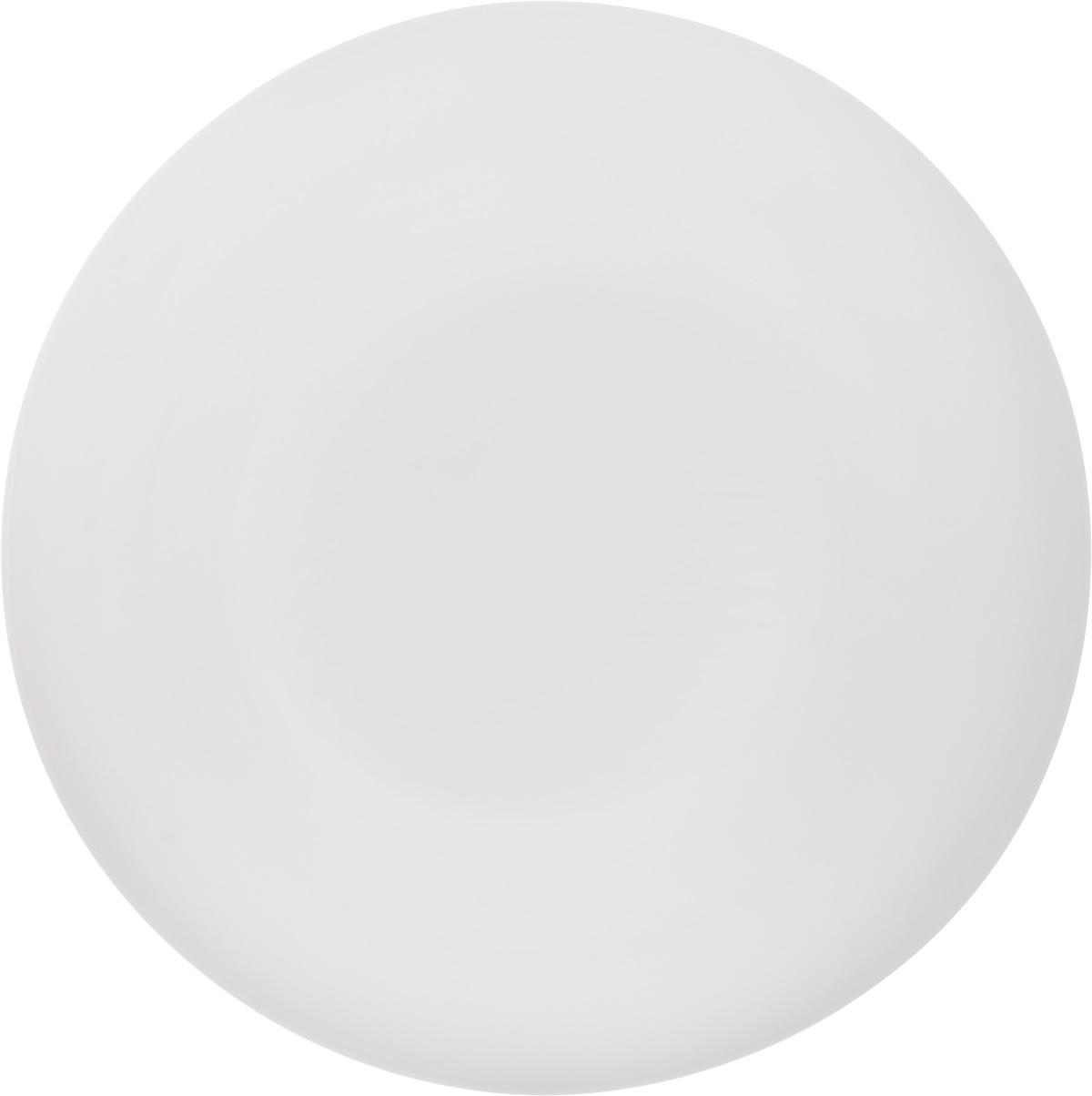 Тарелка обеденная Luminarc Olax, диаметр 25 смL1354Обеденная тарелка Luminarc Olax изготовленаиз ударопрочного стекла белого цвета. Дизайн придется по вкусу и ценителям классики, и тем, кто предпочитает утонченность. Тарелка Luminarc Olax идеально подойдет для сервировки вторых блюд из птицы, рыбы, мяса или овощей, а также станет отличным подарком к любому празднику.Диаметр тарелки (по верхнему краю): 25 см.