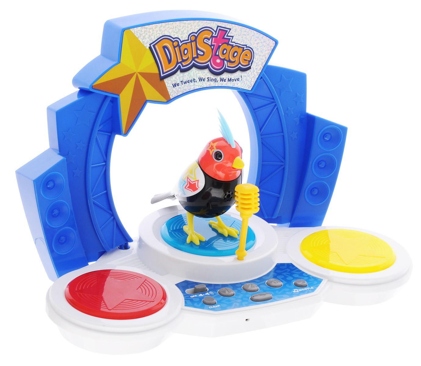 DigiFriends Интерактивная игрушка Птичка со сценой интерактивная игрушка digifriends аква крокодил в ассортименте