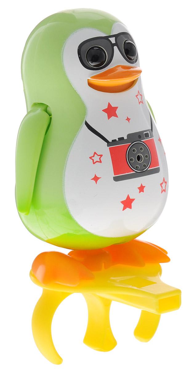 DigiFriends Интерактивная игрушка Пингвин с кольцом цвет салатовый digifriends интерактивная игрушка пингвин с кольцом цвет малиновый