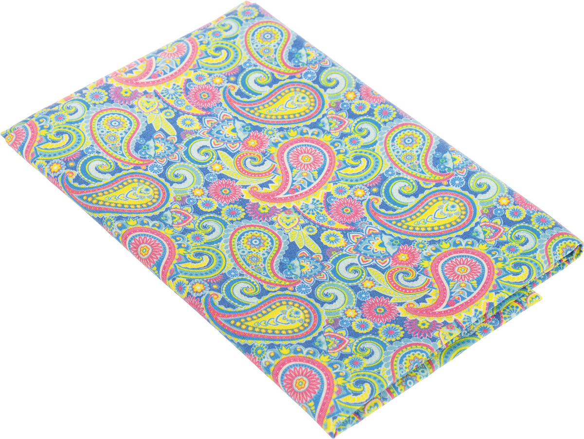 Ткань для пэчворка Артмикс Пейсли, цвет: розовый, синий, зеленый, 48 х 50 смAM604001Ткань Артмикс Пейсли, изготовленная из 100% хлопка, предназначена для пошива одеял, покрывал, сумок, аппликаций и прочих изделий в технике пэчворк. Также подходит для пошива кукол, аксессуаров и одежды.Пэчворк - это вид рукоделия, при котором по принципу мозаики сшивается цельное изделие из кусочков ткани (лоскутков). Плотность ткани: 120 г/м2.УВАЖАЕМЫЕ КЛИЕНТЫ!Обращаем ваше внимание, на тот факт, что размер отреза может отличаться на 1-2 см.