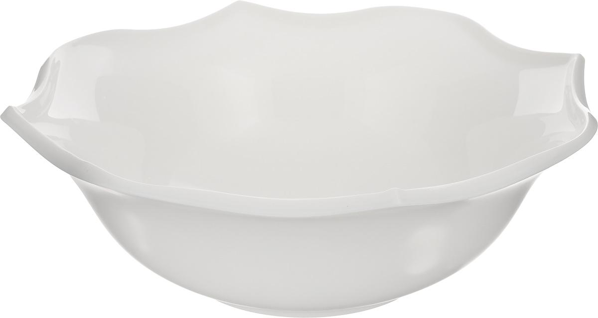 Салатник Luminarc Louisa, диаметр 25 смJ1748Салатник Luminarc Louisa, изготовленный из высококачественного стекла, прекрасно впишется в интерьер вашей кухни и станет достойным дополнением к кухонному инвентарю. Салатник имеет оригинальный дизайн. Такой салатник не только украсит ваш кухонный стол и подчеркнет прекрасный вкус хозяйки, но и станет отличным подарком.Диаметр по верхнему краю: 25 см.Высота салатника: 8,5 см.