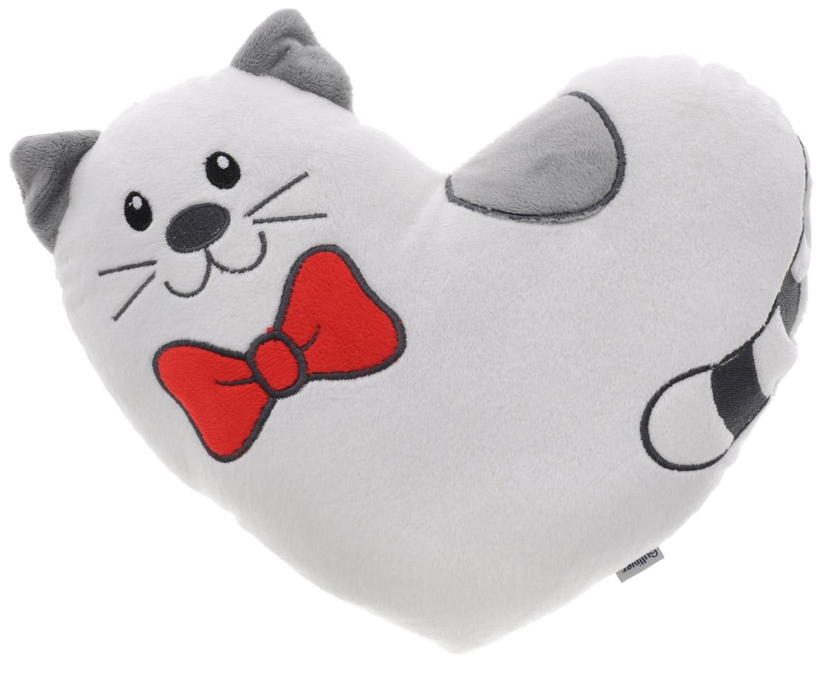 Gulliver Мягкая игрушка-подушка Валентинка Тимур 23 см