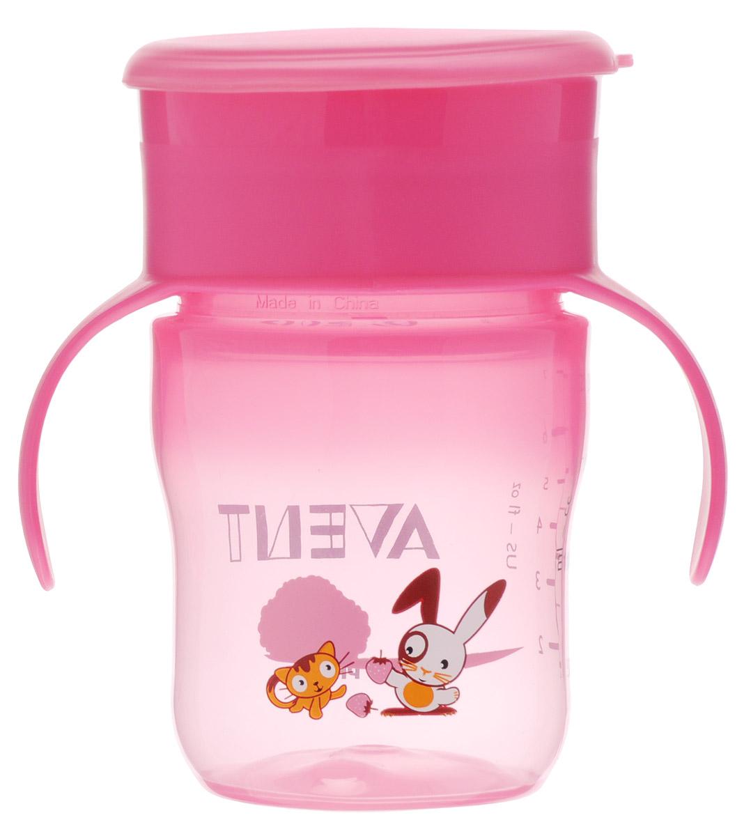 Philips Avent Чашка-поильник от 12 месяцев цвет розовый 260 мл -  Поильники