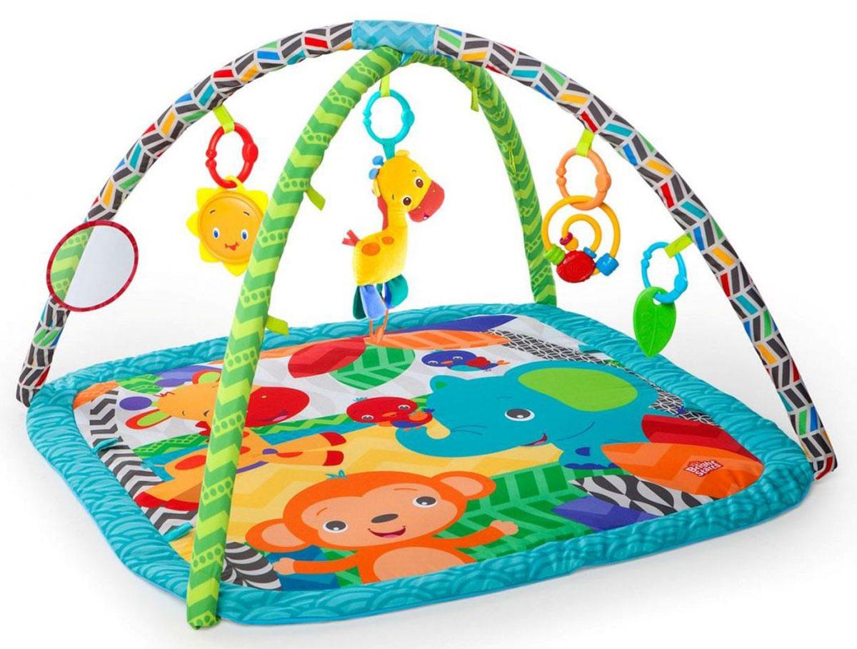Bright Starts Развивающий коврик Веселый жираф - Игрушки для малышей