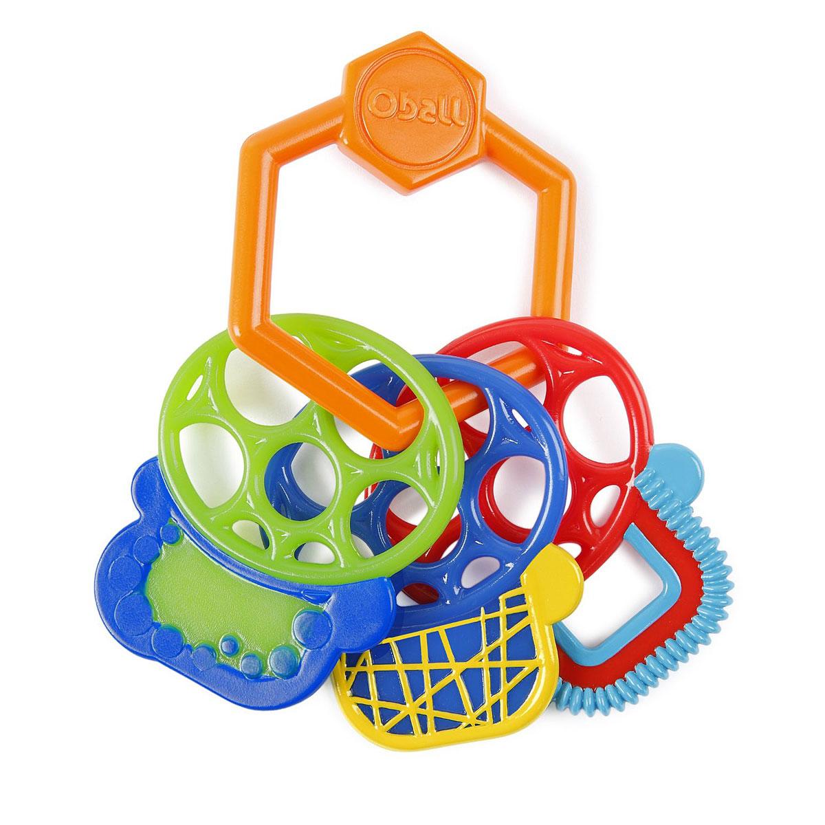 Oball Прорезыватель Разноцветные ключики прорезыватели oball прорезыватель разноцветные ключики