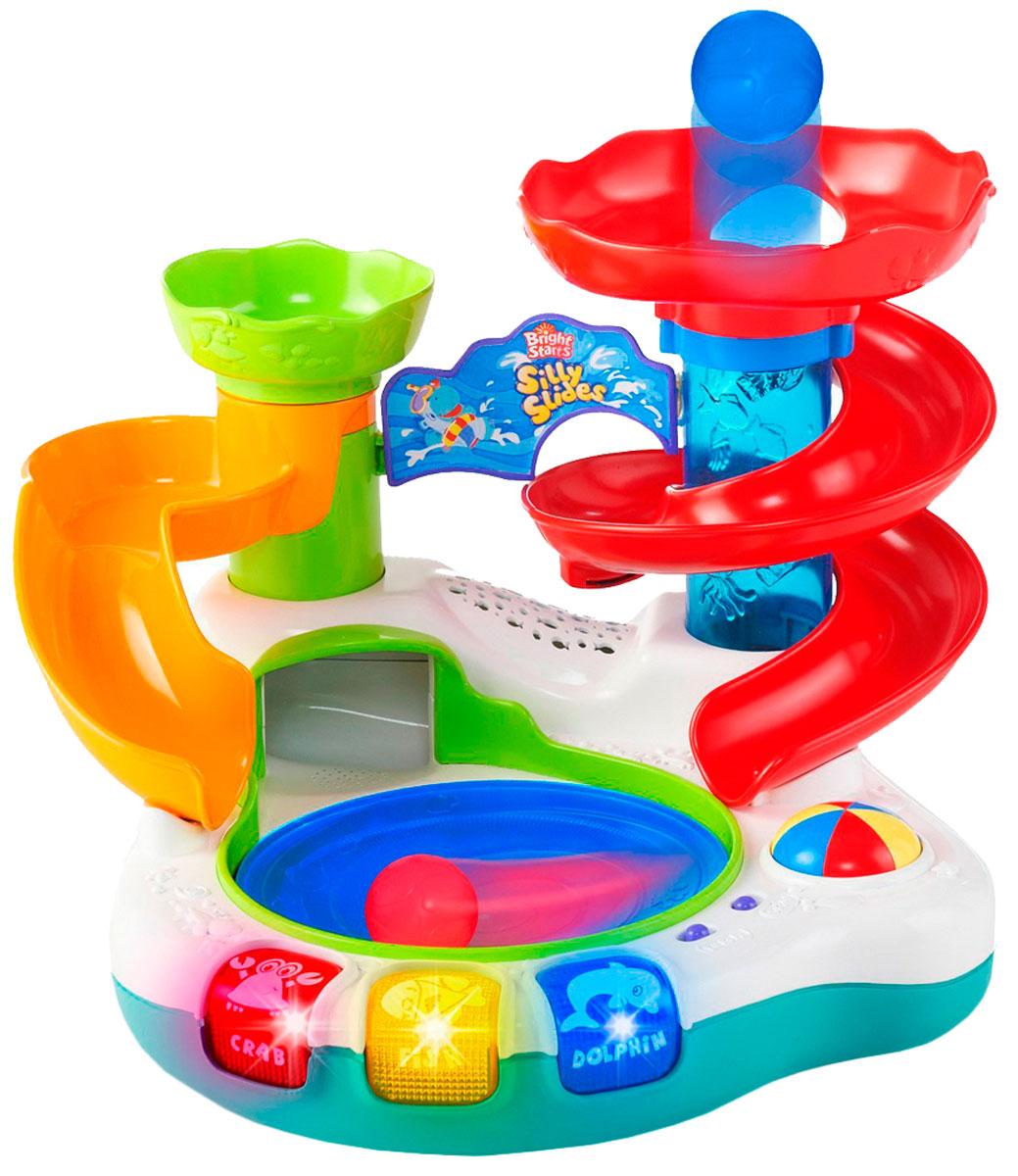 Bright Starts Развивающая игрушка Аквапарк развивающие деревянные игрушки пазл для малышей репка 4 в 1