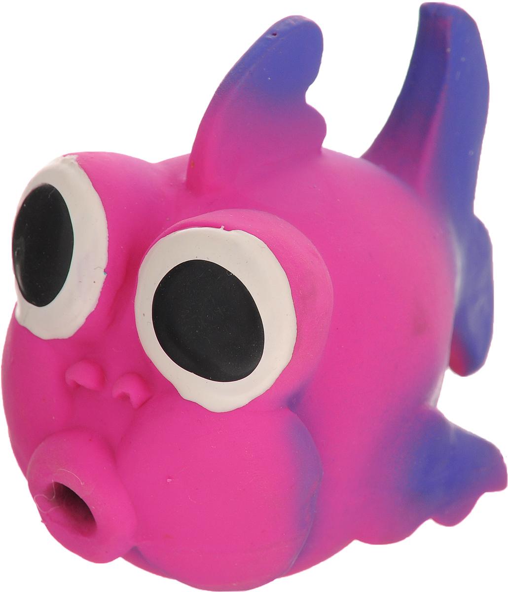 Игрушка для собак Beeztees I.P.T.S. Рыбка, цвет: розовый, фиолетовый16263/620875_розовый, фиолетовыйИгрушка для собак Beeztees I.P.T.S. изготовлена из безопасного латекса в форме забавной рыбки с большими глазами. Игрушка снабжена пищалкой. Предназначена для игр с собаками разных возрастов. Такая игрушка привлечет внимание вашего любимца и не оставит его равнодушным.