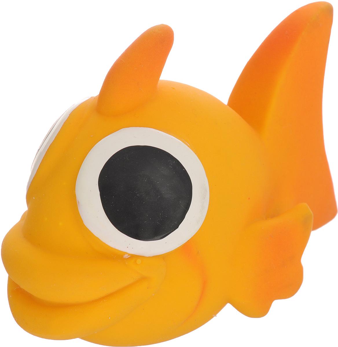 Игрушка для собак Beeztees I.P.T.S. Рыбка, цвет: оранжевый16263/620875_оранжевыйИгрушка для собак Beeztees I.P.T.S. изготовлена из безопасного латекса в форме забавной рыбки с большими глазами. Игрушка снабжена пищалкой. Предназначена для игр с собаками разных возрастов. Такая игрушка привлечет внимание вашего любимца и не оставит его равнодушным.