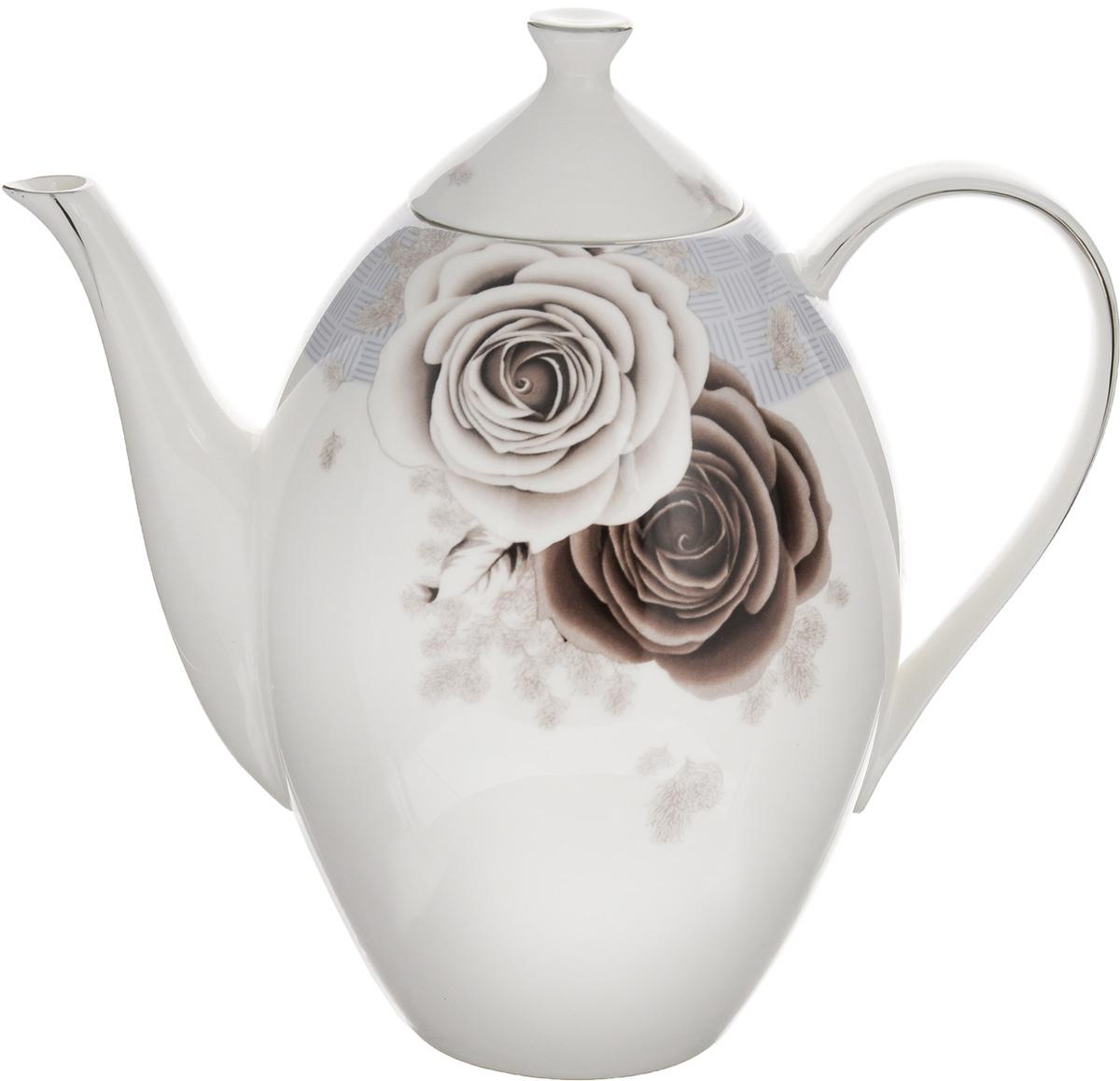 Чайник заварочный Family & Friends Дэниш, 1,3 лPR7993Заварочный чайник Family & Friends Дэниш изготовлен из фарфора, покрытого блестящей глазурью. Изделие декорировано серебристой эмалью и красивым изображением цветов. Такой заварочный чайник станет изысканным украшением стола к чаепитию и порадует вас и ваших гостей оригинальным дизайном и качеством исполнения. Чайник прекрасно подойдет в качестве подарка к любому случаю.Диаметр (по верхнему краю): 6,5 см.Высота (с крышкой): 21 см.