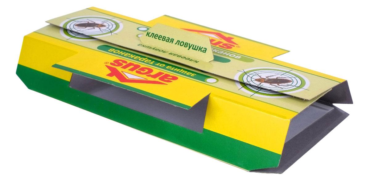 Ловушка от тараканов клеевая Argus, домик кукарача средство от тараканов 50 мл в москве