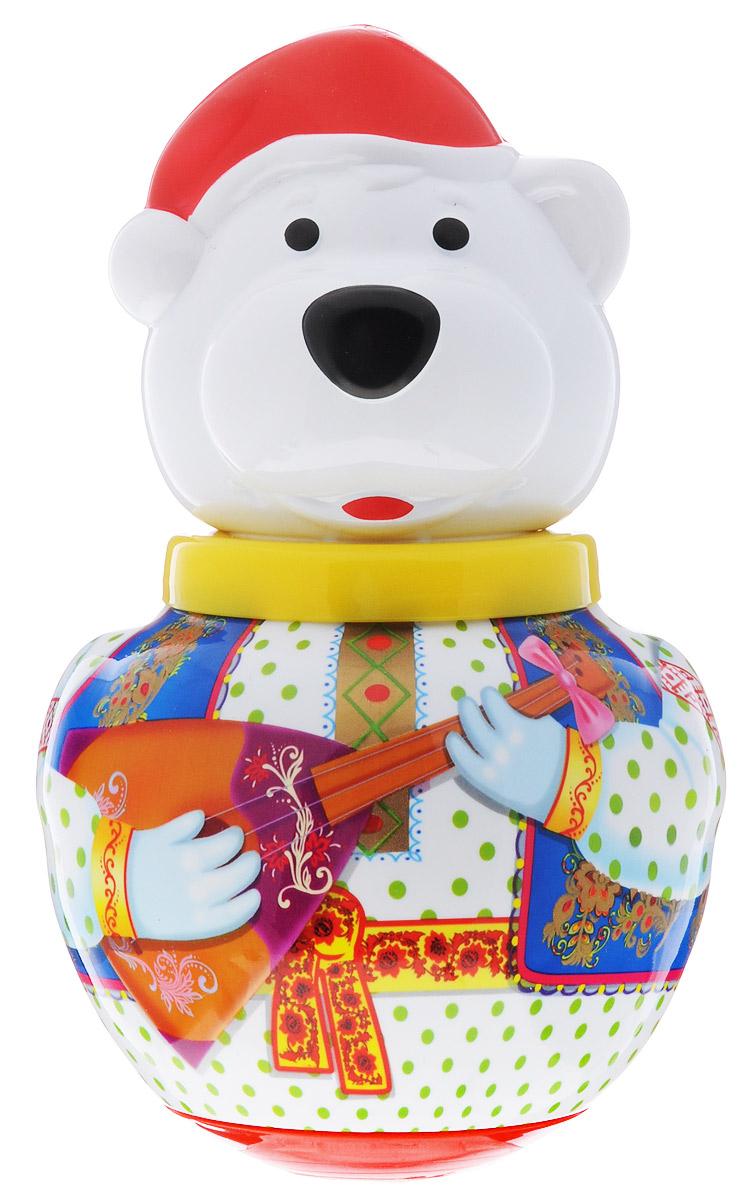 Stellar Неваляшка Белый медведь Борис с балалайкой