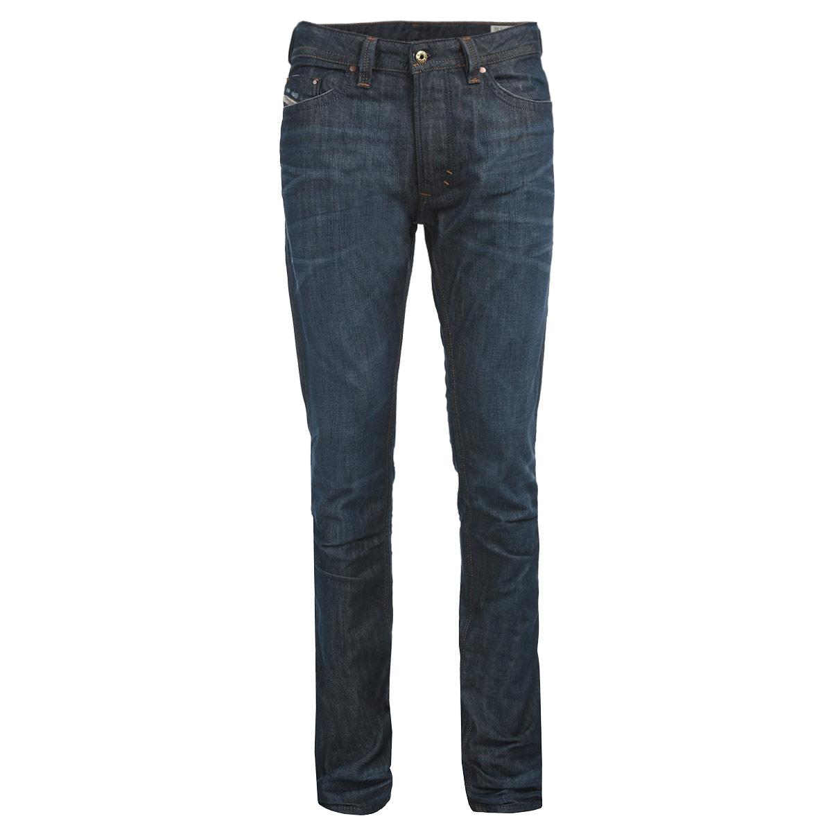 Джинсы мужские Diesel, цвет: темно-синий. 00CKS1-0842N/01. Размер 30 (46) джинсы diesel 00cnyv 0670b 01